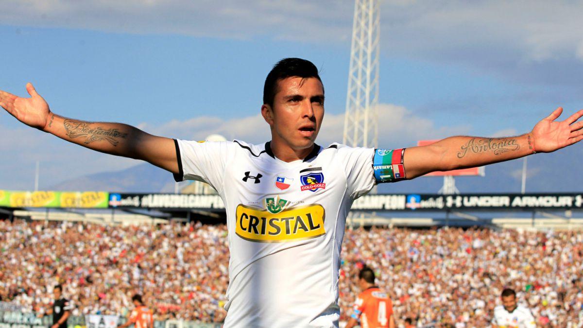 Gonzalo Fierro quiere seguir jugando en Colo Colo